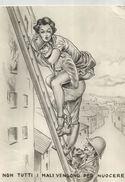 CARTOLINA UMORISTICA: POMPIERI NON TUTTI I MALI VENGONO PER NUOCERE (483) - Humor