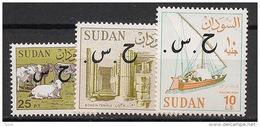 Soudan - 1994 - Service - N°Yv. 131 à 133 - Complet - Neuf Luxe ** / MNH / Postfrisch - Soudan (1954-...)