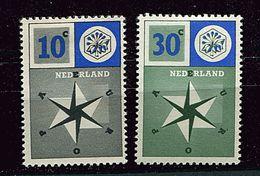 Pays-Bas ** N° 678 - 679 - Europa 1957 - Europa-CEPT