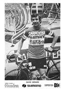 """Sport  -  Cyclisme  -  Le Coureur Cycliste """" David GERARD  """" De L'Equipe """" Flandria - SHIMANO """"  - - Cyclisme"""