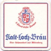 #D176-136 Viltje Kalt-Loch Bräu - Bierdeckel