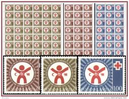 Yougoslavie BF 0066/68** Semaine De La Croix Rouge - MNH - 3 Feuilles / Sheet De 48 **- Cote Yvert & Tellier 264 Eur - Bienfaisance
