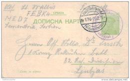 Jugoslawien   Alte Ganzsache ... .. ( Ka1109 ) Siehe Bild ! - Postal Stationery