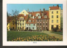K2 Latvia Riga In Spring - Latvian Building House Architecture - Latvia