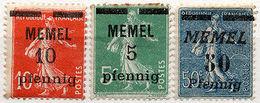 (I.B) France Postal : Memel Overprint Collection - Europe (Other)
