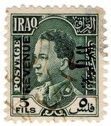 (I.B) Iraq Revenue : Duty Stamp 5f - Iraq