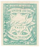 (I.B) English & Irish Magnetic Telegraph Company 5/- - 1840-1901 (Victoria)