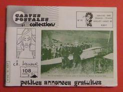 Revue Cartophile Cartes Postales Et Collections - CPC - N° 92 - Juillet Août 1983 - Books