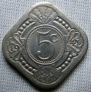 CURACAO 1943 - 5 CENTS - Curacao