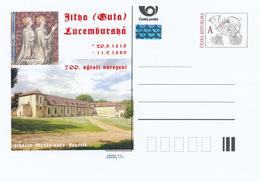 Tschech. Rep. / Ganzsachen (Pre2015/16) Jutta (Guta) Von Luxemburg (1315-1349); Abtei Notre-Dame-La-Royale De Maubuisson - Klöster