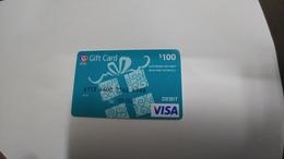 U.s.a-credit Card-(252)($100)-(4946-754)-1card Prepiad Free - Geldkarten (Ablauf Min. 10 Jahre)