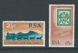 South Africa 1969 Stamp Centenary Set Of 2 MNH - Afrique Du Sud (1961-...)