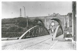 BATTICE : RARE PHOTO - Pont Des Demis-Lunes Et Pont SNCB Ligne 38 - Herve