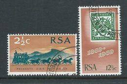 South Africa 1969 Stamp Centenary Set Of 2 VFU - South Africa (1961-...)
