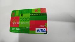 U.s.a-credit Card-(257)-($100)-(2532-688)-1card Prepiad Free - Cartes De Crédit (expiration Min. 10 Ans)