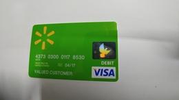 U.s.a-credit Card-(262)-(8530-917)-1card Prepiad Free - Geldkarten (Ablauf Min. 10 Jahre)