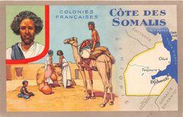 ¤¤    -   CÔTE Des SOMALIS   -  Colonies Françaises  -  Illustrateur   -  Djibouti   -   ¤¤ - Somalie