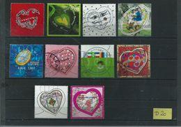 France/Frankrijk 10x Used/oblitere/gebruikt(D-20) - Verzamelingen (zonder Album)