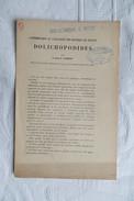 ABBE O LES DOLICHOPODIDES DE FRANCE 1925 - Non Classés