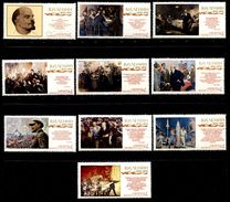 Russia 1970  Mi 3717-3726  MNH ** Lenin. - Ongebruikt