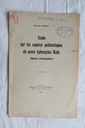 ABBE O PARENT ESPECES PALEARCTIQUES DU GENRE APHROSYLUS WALK 1925 - Sciences & Technique