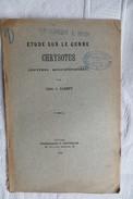 ABBE O PARENT ETUDE SUR LE GENRE CHRYSOTUS 1923 - Sciences & Technique