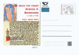 Tschech. Rep. / Ganzsachen (Pre2015/20) Friedrich I. (1122-1190); Kaiser Des Römisch-deutschen Reiches - Sprachen