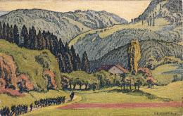 Carte Pro Juventute No 36 - Vallée Du Jura Près De Fontenais - Pro Juventute