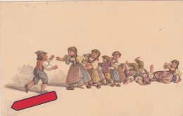 Carte Pro Juventute No 51, Oblitérée LACHEN Le 31.XII.17 - Pro Juventute