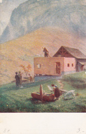 Carte Pro Juventute No 81 - Construction Dans La Schwandital - Pro Juventute