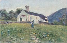 Carte Pro Juventute No 92 - Eglise De Maggia - Filipo Franzoni - Oblitérée  Winterthur Le 31.XII.26 - Pro Juventute