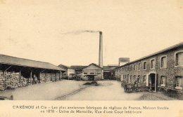 Marseille Carenou Les Plus Anciennes Fabriques De Reglisse De France (LOT 19) - Industry