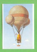 CPM  SAO TOME E PRINCIPE  ~  Balões Aerostáticos  John Wise « Atlantic » ( 1859 )  2 Scans - Sao Tome Et Principe