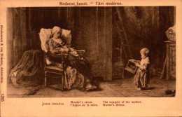 Peinture Et Tableau - Jozef Israel  - L'appui De La Mère - Moderne Kunst - R/V - Peintures & Tableaux