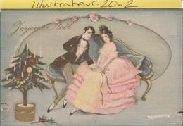 Illustrateur : Signe ,chiostri  - ( Joyeux Noel )  Carte Toilee - Chiostri, Carlo