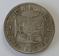 Mozambique - 2.50 Escudos 1935 - Argent - - Mozambique