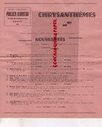49- ANGERS- CATALOGUE CHRYSANTHEMES PORCHER DIONNEAU-15 RUE BLANCHERAIE-CHRYSANTHEME  FLEUR - Agriculture
