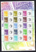 2004 - YT N° Feuillet 3688B - Marianne 14 Juillet + Céres - TBE - Neufs
