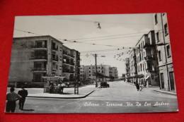 Salerno Torrione Via De Leo Andrea + Rivendita Giornali + Auto 1961 Molto Bella - Salerno