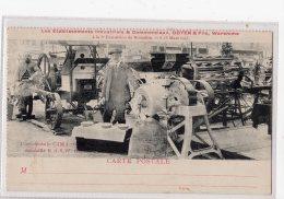 1 - WAREMME -  Etablissements Industriels Et Cmmerciaux DOYEN - Expo Bruxelles 1913 - Waremme