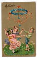 6 - AMITIE  -  Souvenir - Jeu D'enfant - Cartes Postales