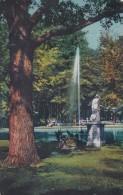 Franzensbad - Parkmotiv Mit Springbrunnen * 11. 5. 1944 - Tschechische Republik