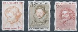 N° 1098/100 P.P. Rubens - Monaco