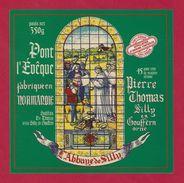 Etiquettes De Fromage. Pont-L'Evèque  P.THOMAS à Silly En Gouffern (61).   Neuve - Kaas