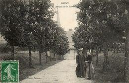 - GIGNY (89) - Avenue De La Gare (2 Femmes Au 1er Plan) -13298- - Frankreich