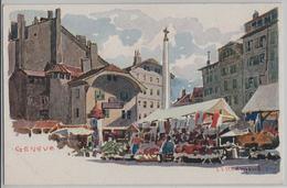 Geneve - Marche - Künstlerkarte - GE Genf