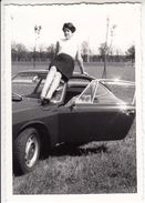 AUTO CAR VOITURE PORSCHE 911 PRIMA SERIE - FOTO ORIGINALE ANNI '60 - Cars