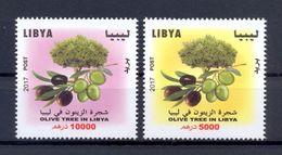 Libya 2017 - Stamps - Olive Tree In Libya - MNH** Excellent Quality - Libya