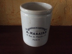 Ancien Pot à Confiture -A Nazaire - Autres