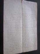 Observations Relevé Palerme Marseille 1859 Manuscrit Bill Of Lading Connaissement Bateau Vapeur Vi Mel Capitaine Chalvin - Manoscritti